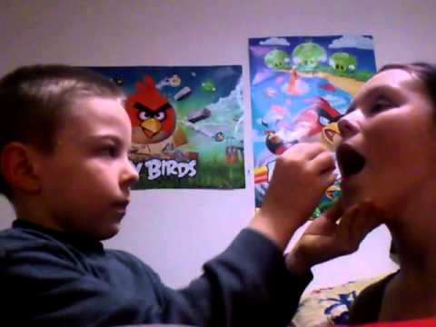 7 Year Old Brother Does My Makeup! video