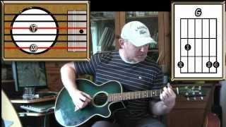 Pink Floyd Video - Brain Damage - Pink Floyd - Acoustic Guitar Lesson