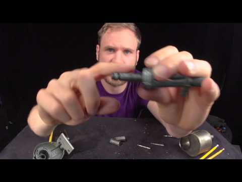 Taking apart a mechanical pencil sharpener