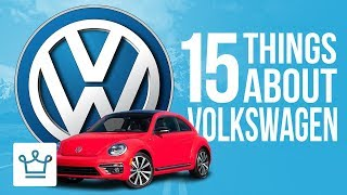 15 Things You Didn't Know About VOLKSWAGEN