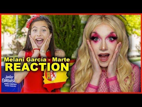 SPAIN - Melani García - Marte | Junior Eurovision 2019 REACTION