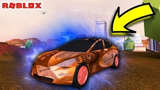 INSANE SECRET HIDDEN ELECTRIC CAR  ROBLOX JAILBREA