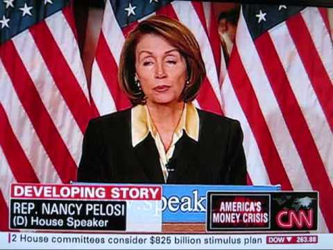 Nancy Pelosi CNN Coverage 500 Million People Will Lose There Job Every Month