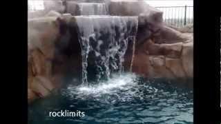Rocklimits albercas en tijuana, cascadas en tijuana, asadores, jardines