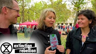 Gail talks '21st Century Economics' with Dr Kate Raworth & Prof Graham Smith | Extinction Rebellion