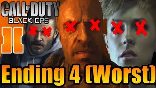 Call of Duty Black Ops 2 Ending 4 (Worst)