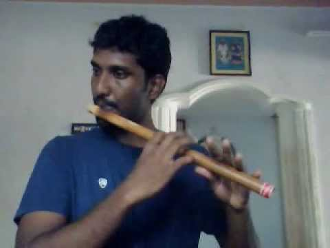 Minnalae Nee - May Madham - Flute By Mani video