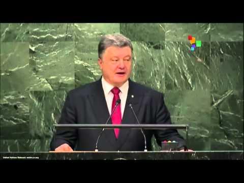 UN Speeches: Ukrainian President Petro Poroshenko
