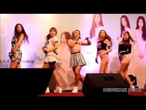 """Pepe - CLC """"First Love"""" Promo Tour in Malaysia @ Berjaya Times Square"""