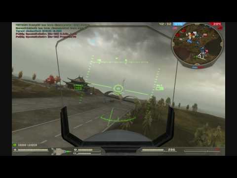 Battlefield 2 F15 Daqing Oilfields