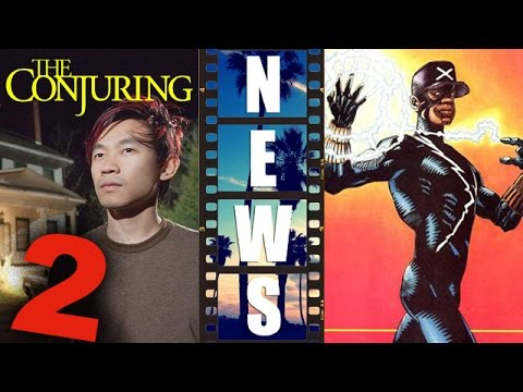 James Wan for The Conjuring 2 2016, Static Shock Digital Series - Beyond The Trailer