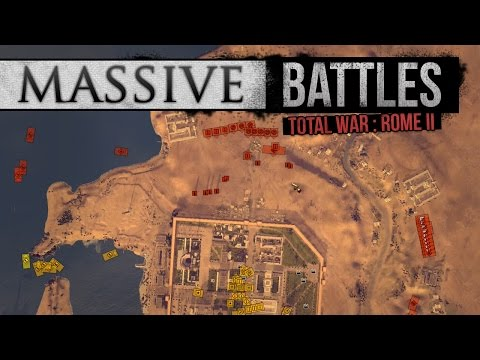 Combined Naval and Land Assault on Alexandria! (Massive Battles)