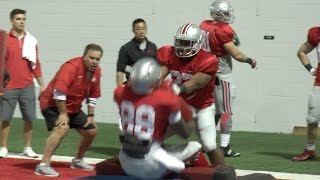 Ohio State 2017 Spring Practice - Raw Footage 3/28