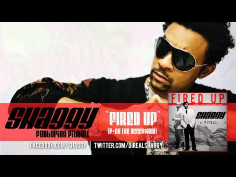 Shaggy Ft. Pitbull - Fired Up (f*ck The Rece$$ion!) Official Audio video