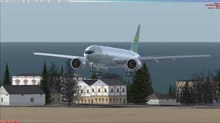 Повтор посадки в URSS на 777 F