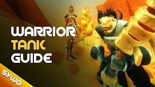 Wildstar - Warrior tank guide (5 man content)