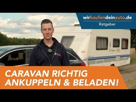 Caravan richtig ankuppeln und beladen | Ratgeber