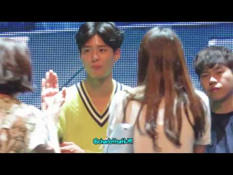 170218 Hightouch with Park Bo Gum 박보검 - Oh Happy Day in Singapore