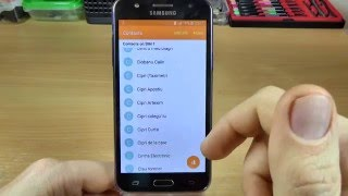 Samsung Galaxy J5 - How to Copy Contacts from SIM to Phone Memory