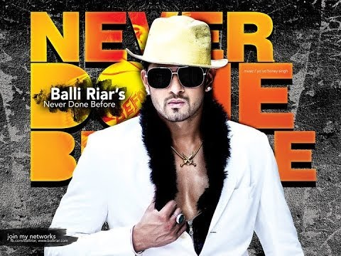 Banda Marna | Balli Riar Ft Yo Yo Honey Singh