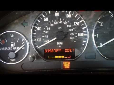 How to Reset a BMW Oil Service Light WITHOUT the Special Tool - E30, E34, E36, E39, Z3, X5, M5
