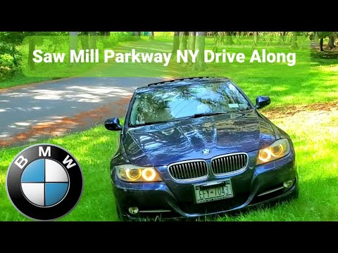 Saw Mill River Parkway Sunday Autumn Drive