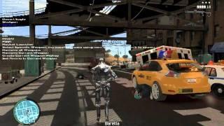 Jugando Grand Theft Auto IV con el Terminator T-800