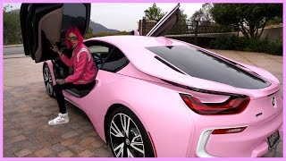 MY NEW BARBIE BMW i8 | Jeffree Star [4K Ultra HD]