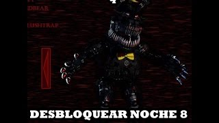 Desbloquear noche 8 en Five Nights At Fredd