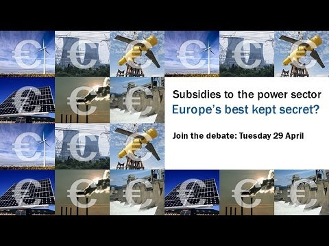 Subsidies to the power sector: Europe's best kept secret?
