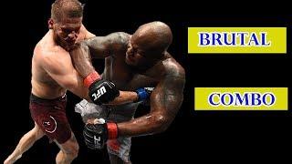HEBATNYA TEKNIK COMBO DALAM MENG-KO LAWAN UFC MMA TERBARU