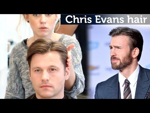 Chris Evans Hair Video | Classic Hairstyle For Men | Medium Length Hair