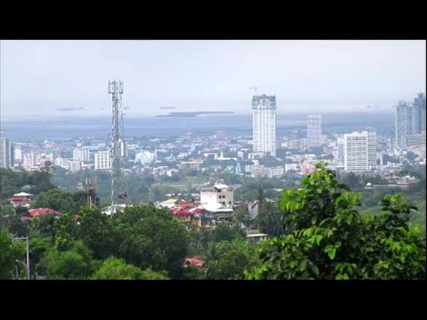 Cebu ~ A mountain view of Cebu City ~ Philippines tourism ~ My Motorcycle Adventures