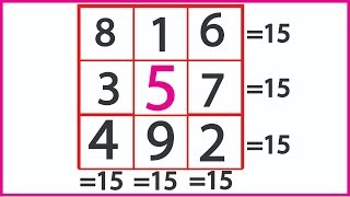 How to solve Magic Square 3x3    ( 8 categories )  MK Sir