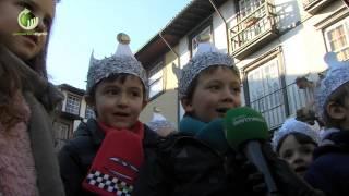 Mais de mil crianças celebraram Dia de Reis no Largo da Oliveira