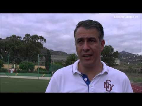 Comentario post partido de Israel Quintana entenador de la UD Villa Santa Brígida 10 10 2015