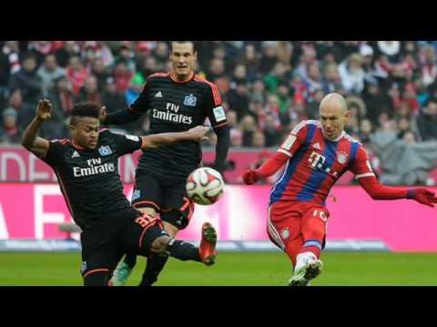 Bayern Munchen vs Hamburger SV 8-0 Bundesliga 14-02-2015 HD