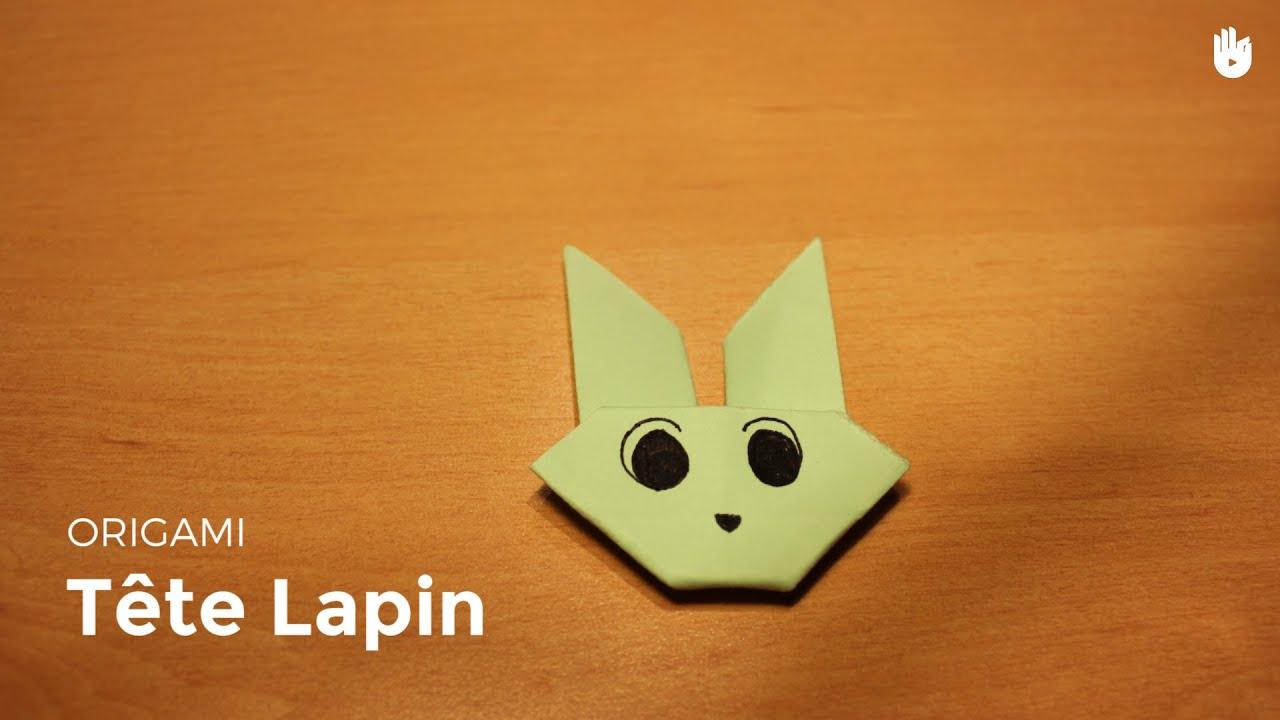 Origami t te de lapin facile hd youtube - Video de origami facile ...