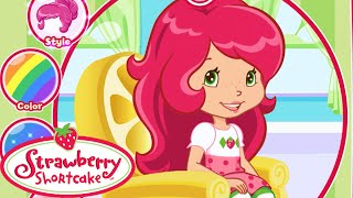 Strawberry Shortcake Berry Beauty Salon Movie Video Game - Strawberry Shortcake New Hair Style