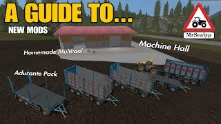 A Guide to... New Mods! (October 9th 2018). Farming Simulator 17 PS4. Review.