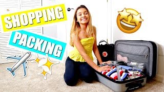 Shopping at TARGET | ULTA and Packing for an Airplane trip to LA ✈️🤩
