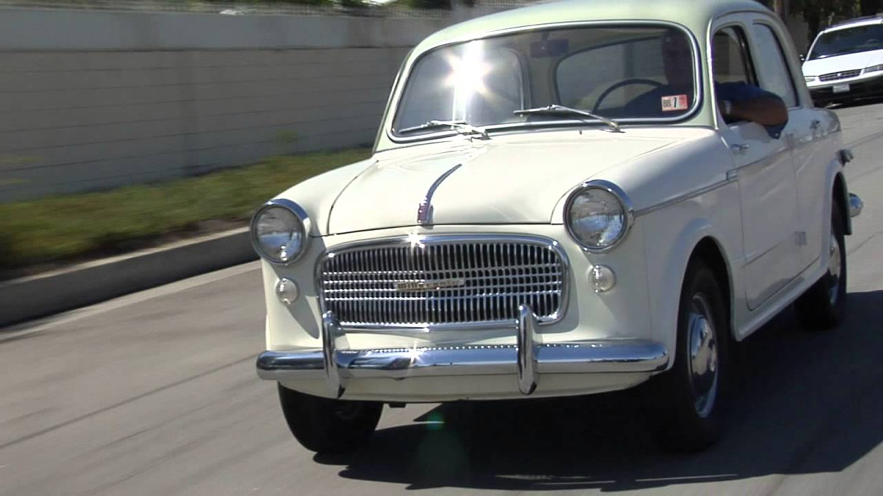 1959 Fiat Millecento Jay Leno S Garage Youtube