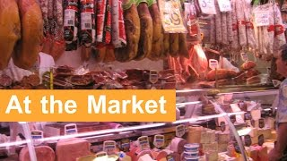 English Conversation: At the Market
