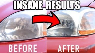 How To Restore Headlights PERMANENTLY!