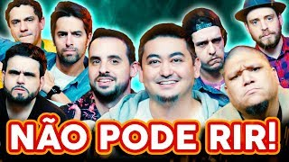 NÃO PODE RIR! com André Santi, Rafael Marinho, Jansen Serra e Daniel Pinheiro