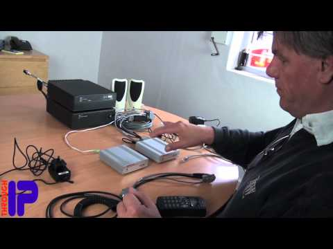 Through IP TIP100 Remote Transceiver Interface Setup Demonstration