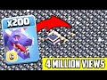 2000 Seeking Air Mine VS  200 Dragon Attack On COC  | Coc Mod Version