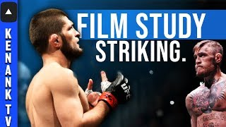 Khabib Nurmagomedov's WORRYING STRIKING! (Film Study) | UFC 229: Full Fight Breakdown Prediction