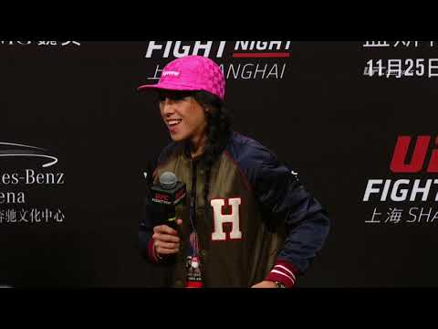 UFC Fight Night Shanghai: Q&A with Jedrzejczyk, Masvidal, & Faber