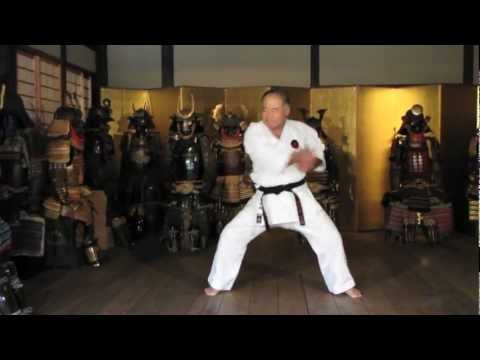 Worlds Karate Legend MORIO HIGAONNA Goju-ryu Master 10th Dan (pt.1)